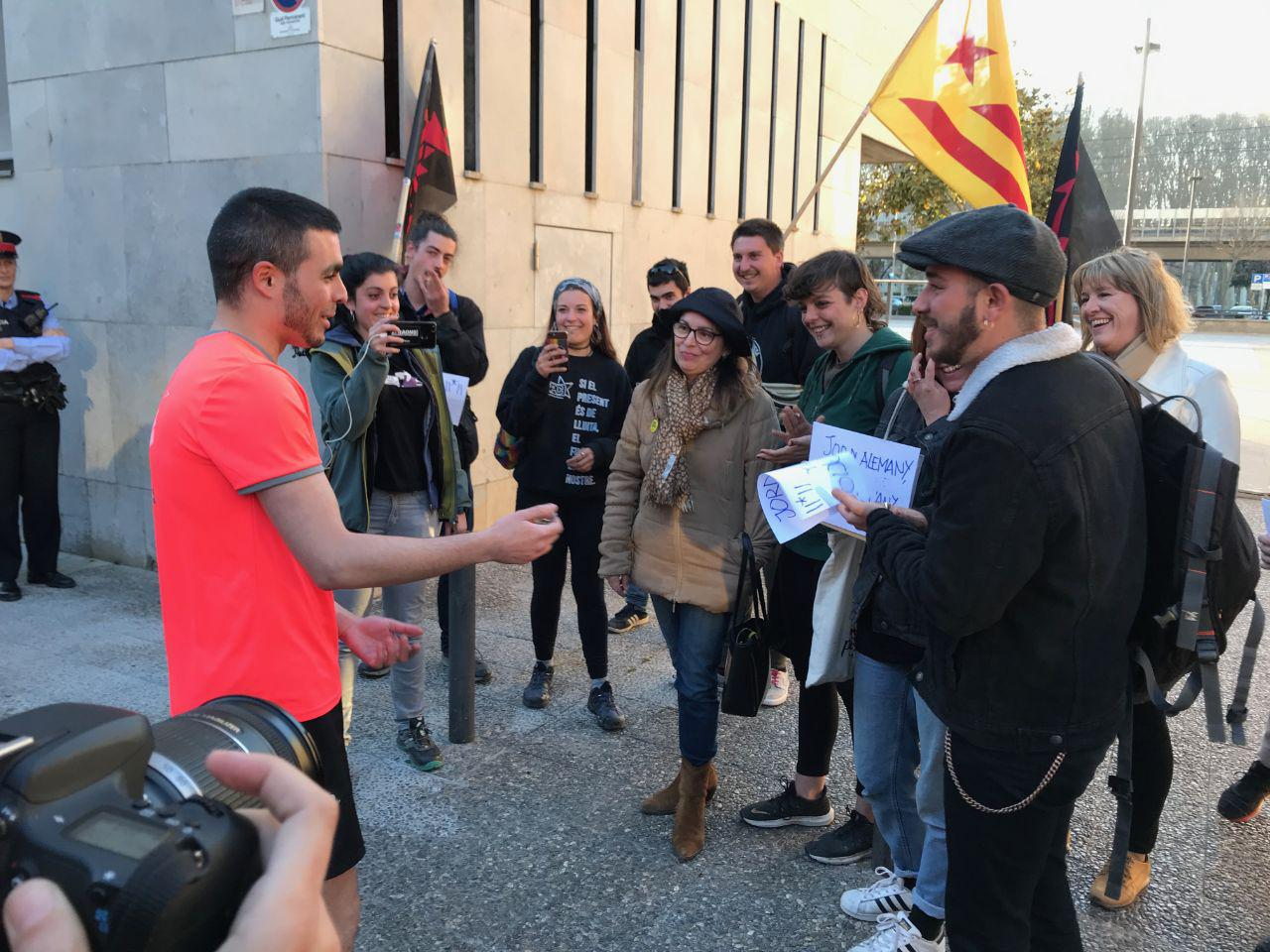 Sortida de comissaria de Jordi Alemany - Psicòlegs per la Independència